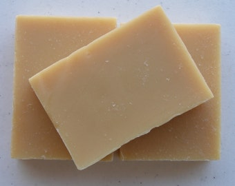 Goat's Milk Soap, 4 bars, All Natural, Cold Process Vegetable Oil Soap, Your Choice of Scents