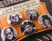 Horror Movie Magnet Collection