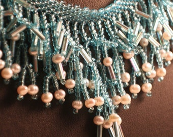Raining Pearls Necklace (OOAK)