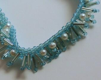 Raining Pearls Bracelet (OOAK)