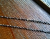 Sterling Silver Rolo Chain - 16 in.