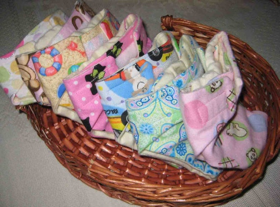 Baby Doll Diapers - 7 (Cloth Diapers) -Reserved for Heather