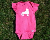 SALE-- Roller Skate Stencil Bodysuit- 5 available- Fast Ship