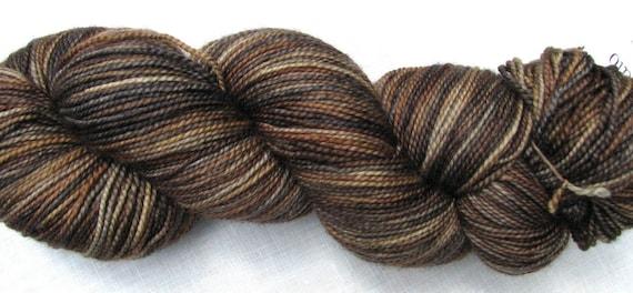 Sock Yarn - Nutmeg - Pebble Sock