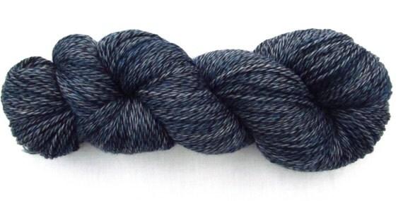 Sock Yarn - Slate Marl - Merilon Sock, OOAK