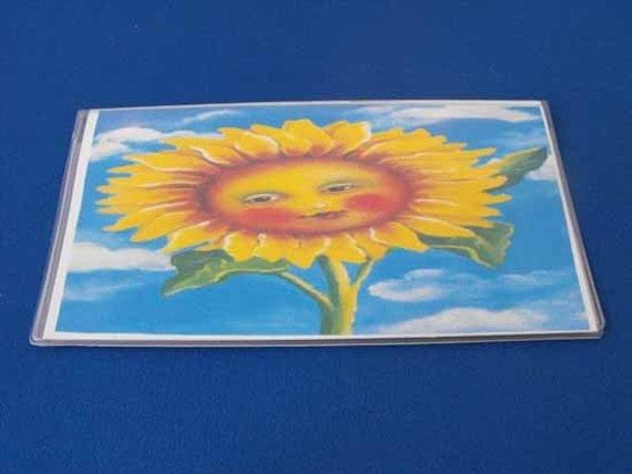 Sunflower Checkbook Cover