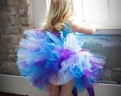 Jeweled Princess Sewn Tutu--AS SEEN ON THE VIEW--matching headband and flower clip included