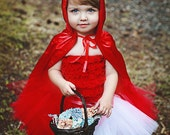 Red Riding Hood Tutu Costume Halloween Costume