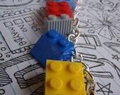 Chunky Lego Charm Bracelet