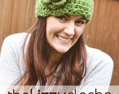 The Lizzy Cloche Crochet PATTERN Sizes 12 Months to Adult Hat Beanie with Flower Instant Download - Buy 3 Patterns Get 1 FREE SALE!