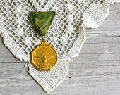 Vintage Long Jump Medal