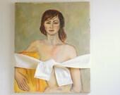 Vintage Oil Painting - Mature