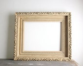 Antique Carved Wood Picture Frame