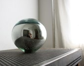 Vintage Garden Gazing Ball - Mercury Glass Kugel