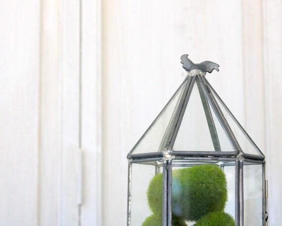 Little Vintage Glass Display Case