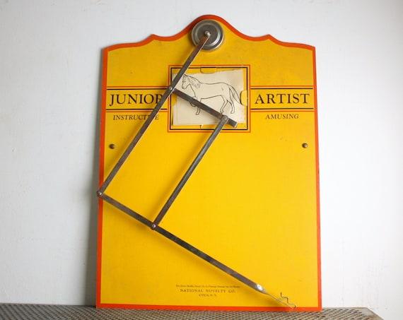 Vintage Junior Artist Drawing Aid