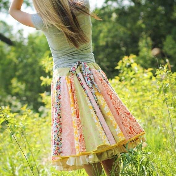 Summer Spin Skirt one-size drawstring by Lazy Mare