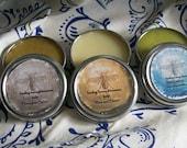healing honey and beeswax balm sampler