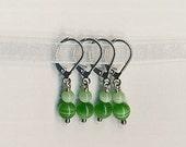 Envy - Green Crochet Stitch Markers