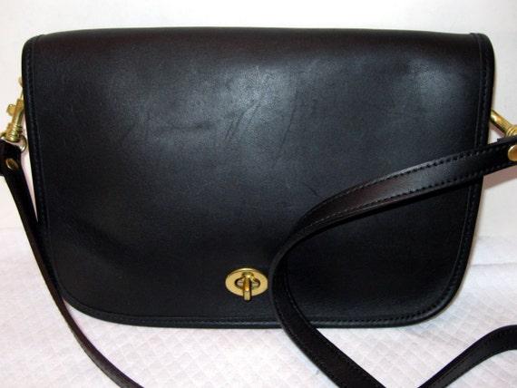 Hunt Club glove tanned leather satchel purse cross body bag black mint