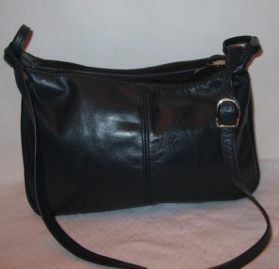 Sas Usa Soft Genuine Leather Hobo Satchel Purse Handbag In
