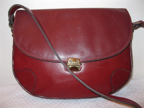 Etienne Aigner large bag satchel purse handmade vintage unique awesome