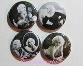 Jean Harlow  1 inch  4 button set no.1