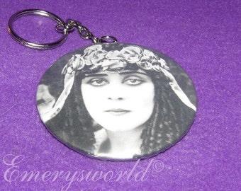 Theda Bara as Cleopatra Key chain no 2