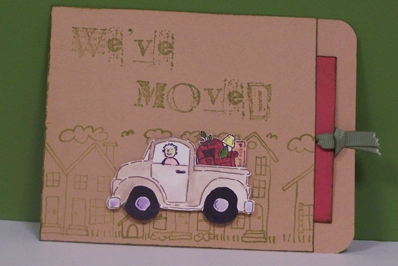 Moving announcement We're Moving Cards (set of 10)