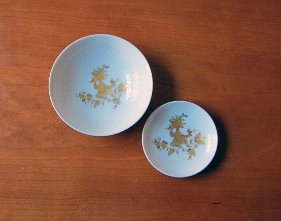 Bjorn Wiinblad for Rosenthal bowls