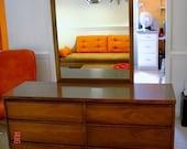 Treasury Item- Vintage Mid Century Danish Modern Furniture - Dresser - Credenza - Buffet