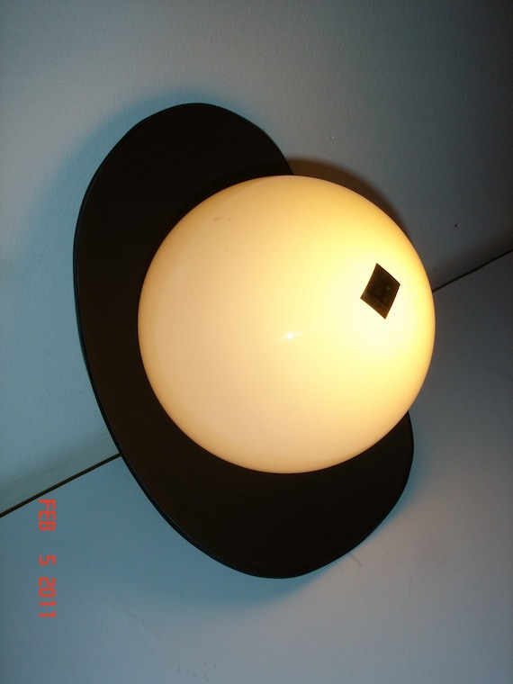 vintage mid century modern indoor outdoor wall mount light