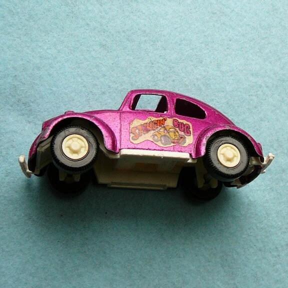 Vintage Tootsie Toy Diecast Car Volkswagen Stingin Bug With