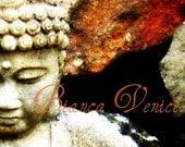 ACEO - Fine Art Print - Half Buddha - Original Limited Edition