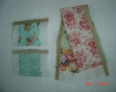 Quilted PAISLEY \/ FLORAL Refrigerator and Oven handle covers