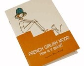 Shinzi Katoh French Girl Cats Medium Size Notebook Journal