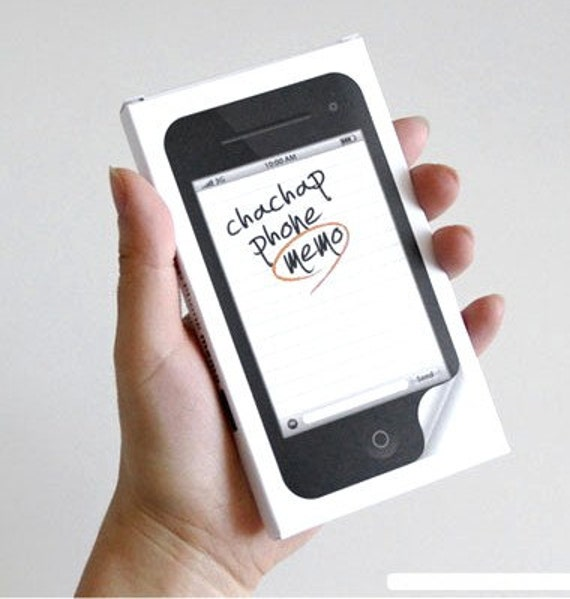 iphone memo pad iphone handphone style note sticker memo pad 12025