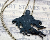 Dementor's Kiss  - necklace or brooch