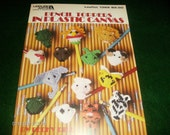 Plastic Canvas Patterns Pencil Toppers Leisure Arts 1369 Plastic Canvas Pattern Leaflet