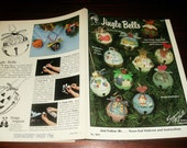 Jingle Bells McNeill 1041 Keivlan Painted Holiday Ornaments Patterns