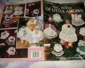 Thread Angel Crocheting Big Book of Little Angels Leisure Arts 3022 Anne Halliday Crochet Pattern Leaflet