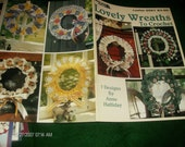 Thread Crochet Pattern Leaflet Lovely Wreaths Leisure Arts 2567 Crochet Pattern Leaflet Anne Halliday