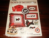 Dog Cross Stitching Patterns Lots O' Scotties Leisure Arts 337 Counted Cross Stitch Folder