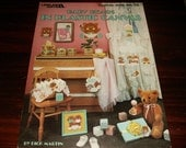Plastic Canvas Patterns Baby Bears in Plastic Canvas Leisure Arts 408 Plastic Canvas Pattern Leaflet Dick Martin