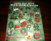 Christmas Plastic Canvas Patterns Trim the Tree in Plastic Canvas Leisure Arts 1389 Plastic Canvas Leaflet