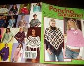 Poncho Crochet Patterns Poncho Panache Annies Attic 874532 Crochet Pattern Leaflet