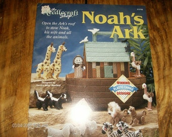 Plastic Canvas Pattern Noah's Ark The Needlecraft Shop 913706 Plastic Canvas Leaflet