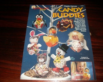 Plastic Canvas Pattern Candy Buddies Needlecraft Shop 923925 Plastic Canvas Pattern Leaflet