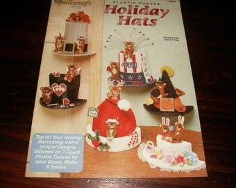Plastic Canvas Hat Patterns Holiday Hats Needlecraft Shop 943934 Plastic Canvas Pattern