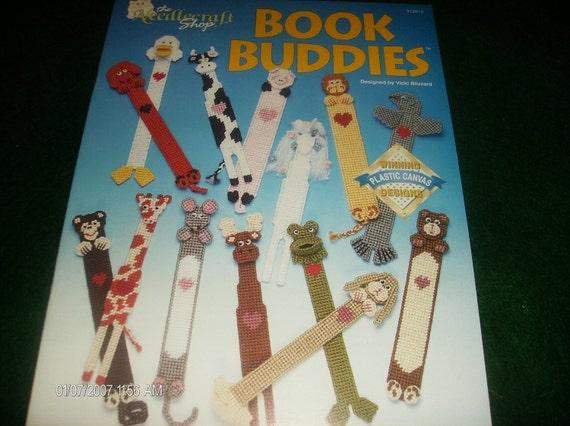 Book Mark Plastic Canvas Patterns Book Buddies Needlecraft Shop 913912 Blizzard Bookmarker Leaflet